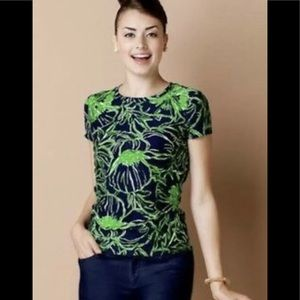Lilly Pulitzer Lexie crew standing ovation L